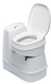 C200CS ELECTRIC WHITE THETFORD CASSETTE TOILET WITHOUT DOOR